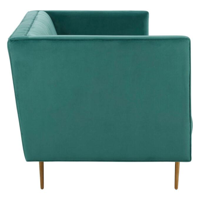 side profile of sofa arm