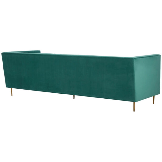 back and side view of otylia 3 seater sofa